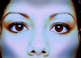Inside Magic Image of Woman with Clear Eyes