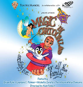 Poster for Brian Role' Magic in Cartoonland