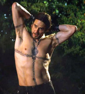 Jim Carrey with Perfect Magician's Body from Burt Wonderstone Movie Publicity Still