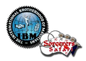 Inside Magic Image of International Brotherhood of Magicians and Magic Camp Logo