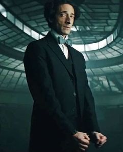 Inside Magic Image of Adrien Brody as Houdini