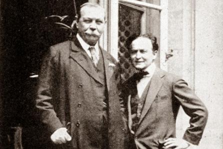 Inside Magic Image of Houdini and Doyle
